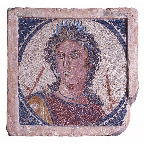 Mosaic of Euterpe